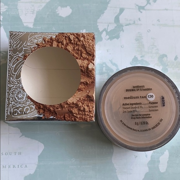 bareMinerals Other - Bare Minerals foundation med tan spf 15 limited